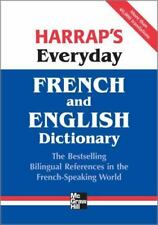 French and English Dictionary by Harrap and Harrap's Staff (2009, Paperback)