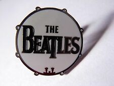 The Beatles drum design pin badge. Nice lapel badge. Ringo Beatlemania