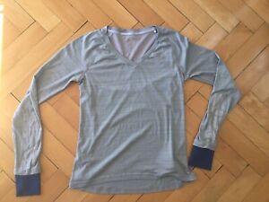 Adidas Supernova Laufshirt langarm Gr:M Damen Running Fitness Sport Gay Crossfit