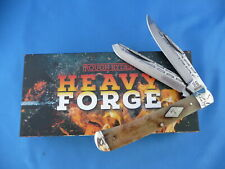 Rough Rider Heavy Forge Trapper Knife Smooth Bone RR1976