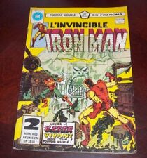 Editions Heritage Invincible Iron Man # 107/108 1983 French Edition Black White