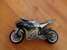 1/18 MAISTO CLASSIC 'EXTREME RACING POWER GROUP' SILVER DIECAST MOTORCYCLE BIKE