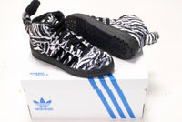 ADIDAS BY JEREMY SCOTT JS ZEBRA TRAINERS BLACK WHITE  NEW SNEAKERS 6.5UK 40EU