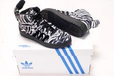 Adidas by Jeremy Scott JS Zebra Trainers Black White New Baskets 6.5uk 40eu