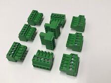Phoenix Contact Phoenix Connector PCB Terminal Block 5 pin 3.5mm Lot of 10