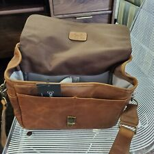 ONA Messenger Camera Bag, Antique Cognac Classy Brown, Brixton, Leather