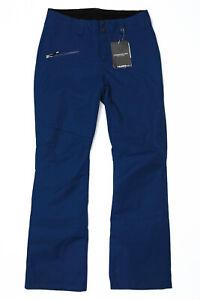 Obermeyer Malta Ski Snow Pants Dusk Blue - Womens 8 Long