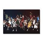 Basketball Stars Together Kobe Jordan Poster Sport Art Print Room Decor Painting
