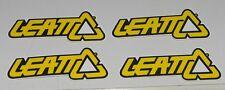 ۞ Leatt Brace ~ 4 pezzo ~ Adesivi Sticker DBX Ride MOTOCROSS ENDURO MTB ۞