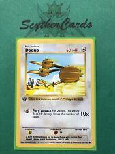 🥇NM 1st Edition Doduo 1999 Shadowless Base Set Pokemon Card, 48/102