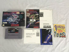 Super R-Type (Super Nintendo Entertainment System, 1991) Game Box Manual Inserts