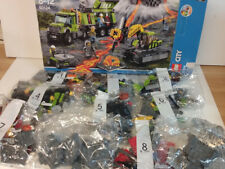 LEGO CITY  Volcano Exploration Base set 60124 2016 Complete Not played with