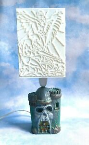 masters of the universe - He-man - Picture Lamp - Castle Greyskull - New - Uk