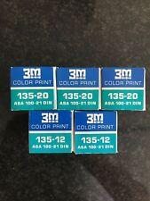 5x 3M ColorPrint 135mm expired Lomo Kodak fuji Perutz agfa analog film