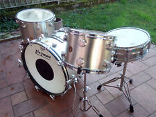 HAYMAN VIBRASONIC OUTFIT SILVER 1968 VINTAGE drum set batteria all original !!!!