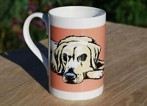 Labrador (Golden) porcelain single mug