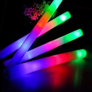 FLASHING LIGHT UP Sensory Autism Soft Tube Fidget Toys Safe Stick Autism Anxiety