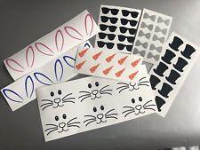 10 Easter Bunny Vinyl Glass Stickers Decals Crafts Mug Art Rabbit Girls Boys Diy