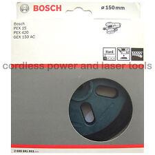 Bosch almohadilla de lijado de respaldo duro placa de goma Pex 15 420 Sergy 150 AC 2608601053