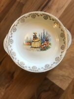 Pretty Ceramic Crinoline Lady Cake Plate - Staff Teaset Co