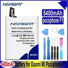HSABAT 5400mAh BM4E Battery for Xiaomi MI Pocophone F1 Poco F1