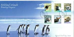 FALKLAND ISLANDS 2008 BREEDING PENGUINS  FDC PORT STANLEY