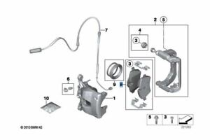 BRAND NEW GENUINE MINI Front Brake Pads R55, R56, R57, R58, R59  34116772892