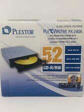 Plextor PX-240A 52x52x32x IDE / PATA Internal CD-RW Drive - PX-240A-23 / PX240A