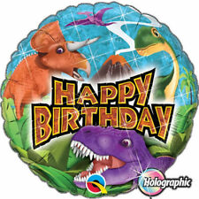 Dinosaurs Birthday, Child Party Foil Balloons