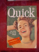 QUICK pocket magazine March 2 1953 TERRY MOORE: