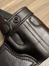 SMITH & WESSON MP Shield EZ RH Draw Handmade Leather Holster