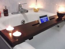 BATH-CADDY / BATH RELAX BOARD - DIFFERENT COLOURS WINEHOLDER & TABLET/PHONE SLOT