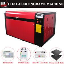 Reci W2 100w 1060 Laser Engraving Machine Ruida Dsp Cw5200 390mm Dual Platform