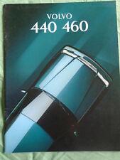 Volvo 440 460 range brochure Aug 1993