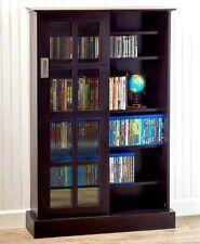 Atlantic® Windowpane 576 Cabinet Media Organizer DVD CD Games FREE SHIPPING