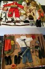 Vintage Action man bits and bobs