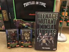 Tmnt Neca Lot 2018 SDCC The Figures Exclusive And Game Stop Shredder & Splinter