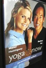 Yoga Now! DVD,NEW!Rodney Yee,Mariel Hemingway,30 Minute core workout,weight loss