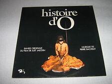 BOF HISTOIRE D'O 33 TOURS FRANCE PIERRE BACHELET
