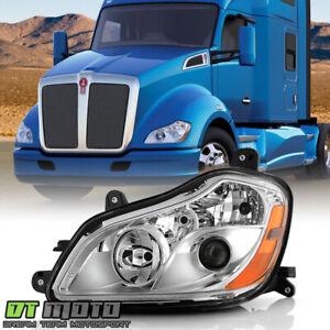 2013-2019 Kenworth T680 Halogen Type Projector Headlight Headlamp - Driver Side