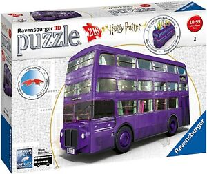 Harry Potter Night Bus 28cm Original Puzzle 3D 216 Pieces RAVENSBURGER