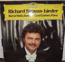 Richard Strauss Lieder Bernd Weikl, Bariton Cord Garben Piano 33RPM 022017RECLLE