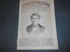 1873 POUCHET FUNERALI DI ALESSANDRO MANZONI ACCAMPAMENTO ESTIVO ALASKA