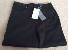 "Ladies M&S Per Una Bling Straight Leg Jeans - Bottle Green- UK10 -Short 29"" BNWT"