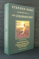 THE COLORADO KID Stephen King DELUXE TRAYCASED SIGNED LIMITED J K Potter