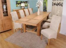 Oak Up to 10 Seats More than 8 Pieces Table & Chair Sets