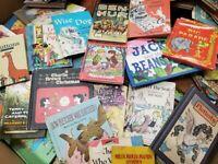 Lot of 10 Children's Vintage Rare Hard to Find Books *RANDOM*