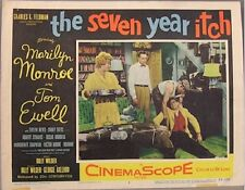 SEVEN YEAR ITCH, 1955, MARILYN MONROE, LOBBY CARD