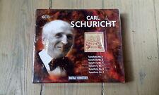 COFFRET 6 CD CARL SCHURICHT - SYMPHONY 1, 2, 3, 4, 5, 6 & 7 / neuf & scellé