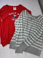 gilly hicks x2 long sleeve t shirt size large pre loved in v.g.c